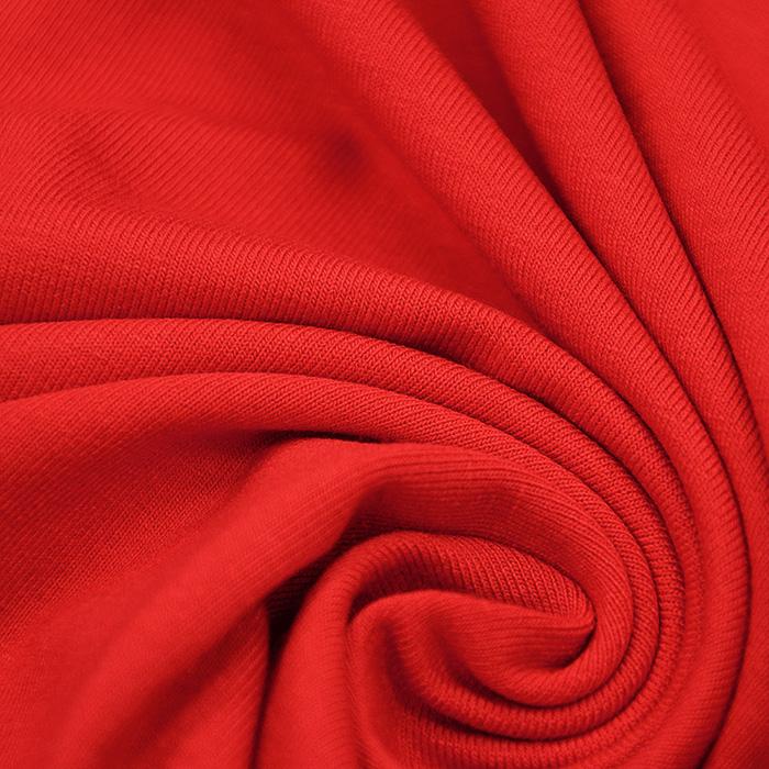 Jersey, viskoza, 13337-46, rdeča