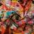 Mreža, poliester, modni inkjet tisk, 14865-1 - Svijet metraže