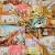 Tricot material, digital print, romantic, 16453 - Bema Fabrics