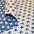 Deco jacquard, stars, 16745-3, blue - Bema Fabrics