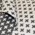 Deco jacquard, geometric, 16744-4, grey - Bema Fabrics