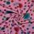 Jersey, bombaž, cvetlični, 17522-12, roza - Svet metraže