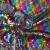 Pailletten, Jersey, 18948-001, regenbogenfarben - Bema Stoffe