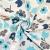 Deko, tisak, impregniran, cvjetni, 19207-6030, plava - Svijet metraže