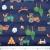 Prošiven materijal, dječji, 19720-61672, plava - Svijet metraže