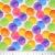 Jersey, Baumwolle, digital, Punkte, 20603-02, weiß - Bema Stoffe
