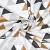 Baumwolle, Popeline, geometrisch, 20800, metallic - Bema Stoffe
