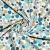 Pamuk, popelin, točke, 20822-2, mint - Svijet metraže