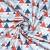 Pamuk, popelin, geometrijski, 20855-2, crveno-plava - Svijet metraže