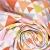 Baumwolle, Popeline, geometrisch, 20855-3, orange-gelb - Bema Stoffe