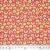 Baumwolle, Popeline, Kreise, 20856-2, rot-grün - Bema Stoffe