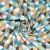 Pamuk, popelin, geometrijski, 20861-4, smeđa - Svijet metraže