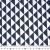 Baumwolle, Popeline, geometrisch, 20863-6, dunkelblau - Bema Stoffe