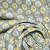 Baumwolle, Popeline, geometrisch, 20790-5, grau - Bema Stoffe