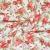Dekostoff, Druck, floral, 21151, rot - Bema Stoffe