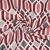 Dekostoff, Jacquard, geometrisch, 21312-22, rot - Bema Stoffe