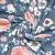 Jersey, Baumwolle, Digitaldruck, romantisch, 21442-16, blau - Bema Stoffe