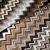 Mikrofaserstoff, geometrisch, 21573-600, braun - Bema Stoffe