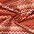 Mikrofaserstoff, geometrisch, 21573-307, orange-rot - Bema Stoffe