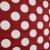 Dekostoff, schwer, große Punkte, bordeaux, 13181-112 - Bema Stoffe