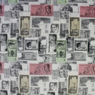 Deco jacquard, money, 13699-01