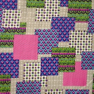 Cotton, poplin, patchwork, 13641-052