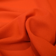 Georgette, for suits, wool, 004_13720-15 orange - Bema Fabrics