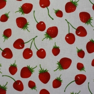 Deco, print, cherries, 13783