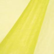 Organdi, poliester, 13903-14, žuta