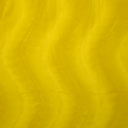 Polyester, flocked, yellow, 13934-03