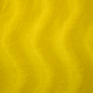 Poliester, kosmaten, 13934-03, rumena