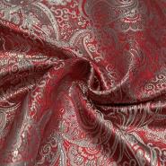 Žakard, svečan, 13927-01, rdeča