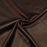 Satin with spandex, 14021-24, brown