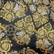 Silk, chiffon, pattern 14021-13