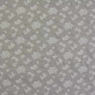 Deko žakard, cvetlični, 14138-9123, bež