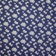 Deko žakard, cvetlični, 14138-59, modra