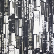 Deco jacquard, books, 13960-13