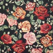 Deco jacquard, roses, 13961-4