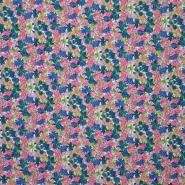 Cotton, poplin, floral, 13970-45