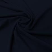 Gewebe, Polyester, dünn, 008_13460-3, dunkelblau