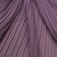 Plise, šifon, poliester, 14162-15, vijola