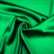 Svila, saten, 4293-29, zelena