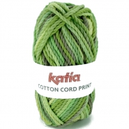 Yarn, Cotton Cord Print, 14735-102, green