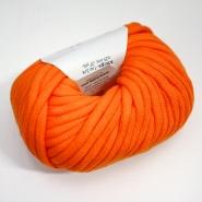 Preja, bombaž, poliamid, oranžna, 14736-55