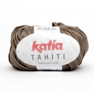 Yarn, Tahiti, cotton, 14737-6, grey-brown