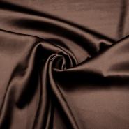 Silk, satin, 4293-34, brown