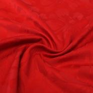 Kostimski, žakard cvetovi, 13146-015, rdeča