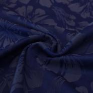 Kostimski, žakard cvetovi, 13146-005, kraljevsko modra