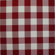 Dekor tkanina, teflon, Cegled, 14178-1, rdeča