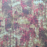 Svila, bombaž, tkanina, kača, 14210-3